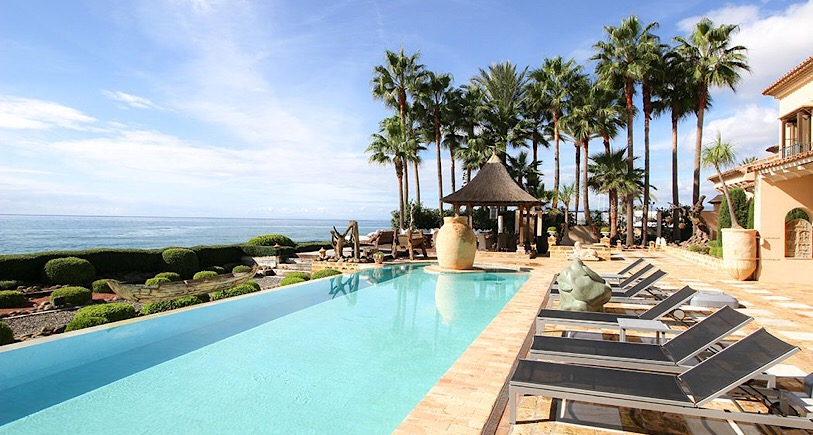 Villa for rent Los Monteros