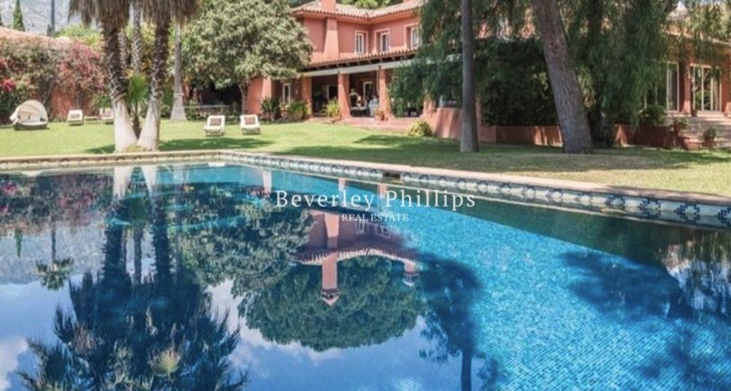 Villa for sale Marbella Golden Mile